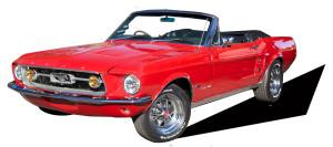 Kim Mechams custom cars for Cars on TV