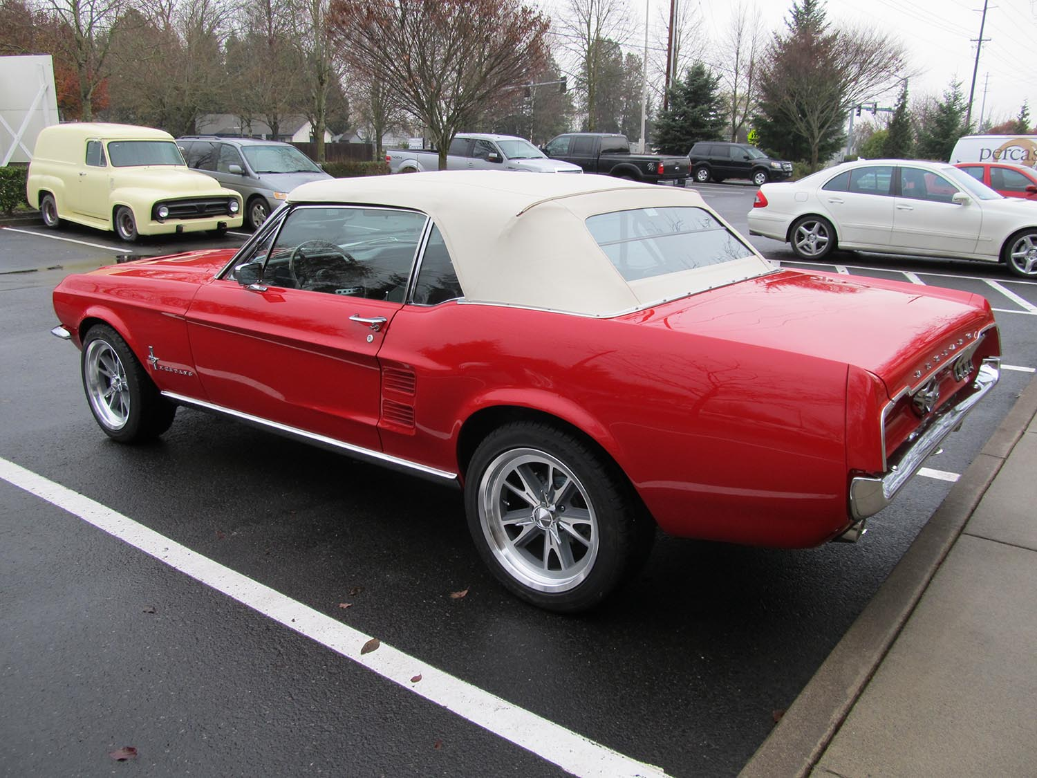 Ford Mustang Clipart moreover Chevelle Convertible Ls Tremec Speed Ac Frame Off Restoration Not Ss in addition Shelby Gt V furthermore  in addition Ford Mustang Door Data Plate. on 1967 red mustang convertible